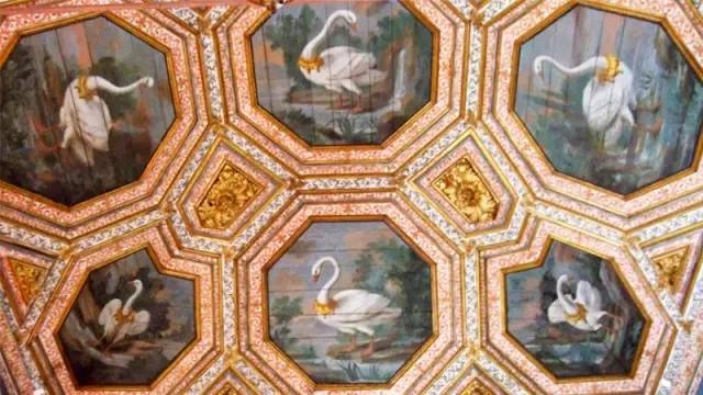 天鵝廳天花板Sala dos Cisnes