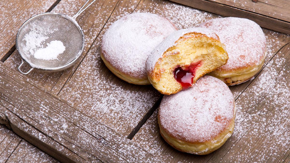 波蘭美食|波蘭甜甜圈‧胖胖星期四
