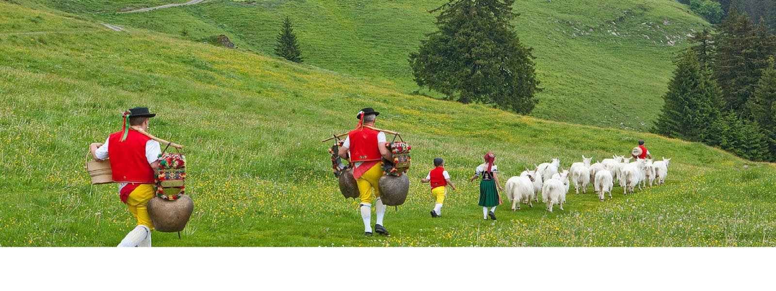 瑞士趕牛節儀式服裝