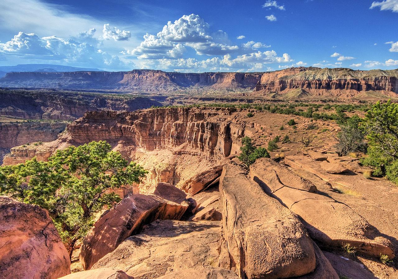 美國國家公園|國會山脊國家公園